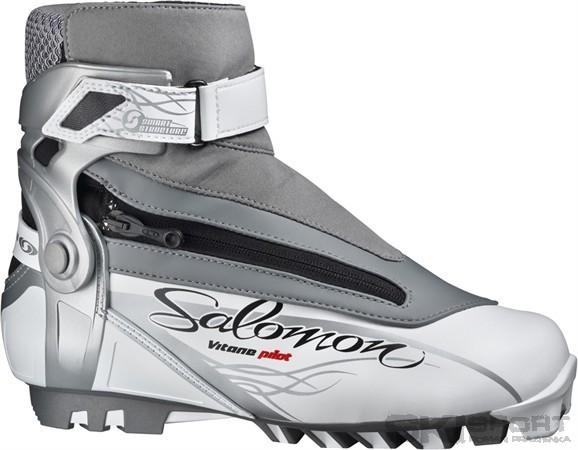 Boty na běžky Salomon VITANE PILOT jsou dámské boty pro bruslení i klasický  styl. - Smart structure předtvarovaná manžeta-Poskytuje výbornou podporu a  ... 08578f9f60
